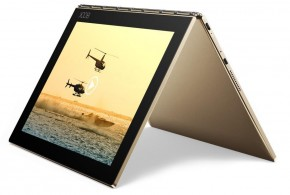 Lenovo Yoga Book 10 ZA0W0056CZ, zlatá + DRAK!