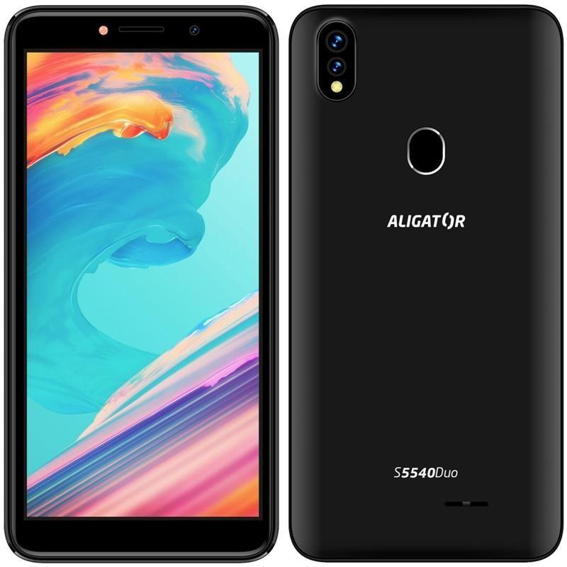 Levné mobily Mobilní telefon Aligator S5540 2GB/32GB, černá