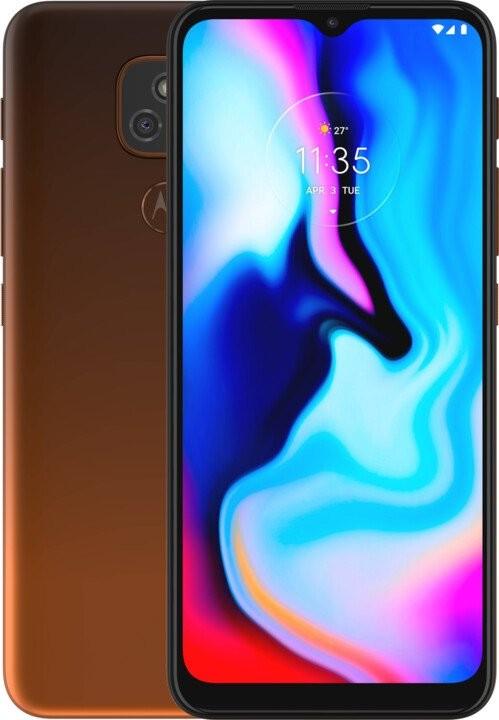 Levné mobily Mobilní telefon Motorola E7 Plus 4GB/64GB, oranžová