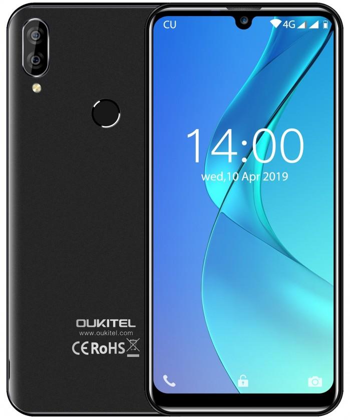 Levné mobily Mobilní telefon Oukitel C16 Pro 3GB/32GB, černá