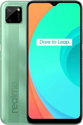 Levné mobily Mobilní telefon Realme C11 3GB/32GB, zelená