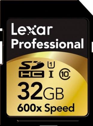 Lexar 32GB UHS-I SD 600x Professional (Class 10)