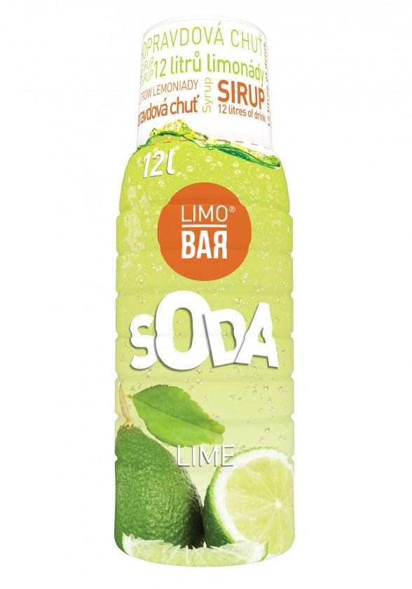 Limobary, sirupy Sirup Limo Bar Limetka, 500ml