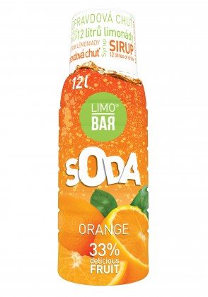 Limobary, sirupy Sirup Pomeranč pro Limobar