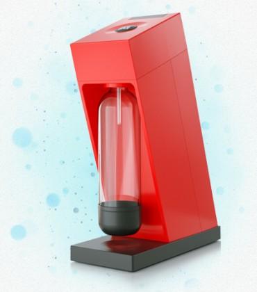 Limobary, sirupy Výrobník sody LIMO BAR Edge Red