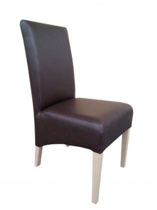 Link - Jídelní židle (dub sonoma / hnědá deluxe 107)