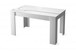Lino - Jídelní stůl (bílá)