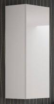 Livo - Závěsná skříňka 120 (bílá mat/bílá lesk)