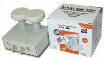 LNB Mascom MCM4T01HD,  Monoblock Twin, Gold 4.3°