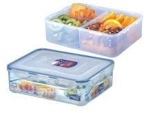 LOCK&LOCK HPL834C Dóza na potraviny s přihrádkou 3,9L