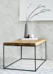 Loft - Konfereční stolek čtverec nízký, 60x46x60 cm