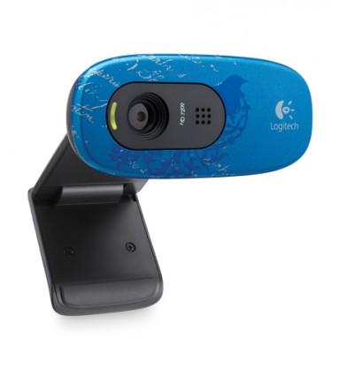 Logitech HD Webcam C270 Indigo Scroll