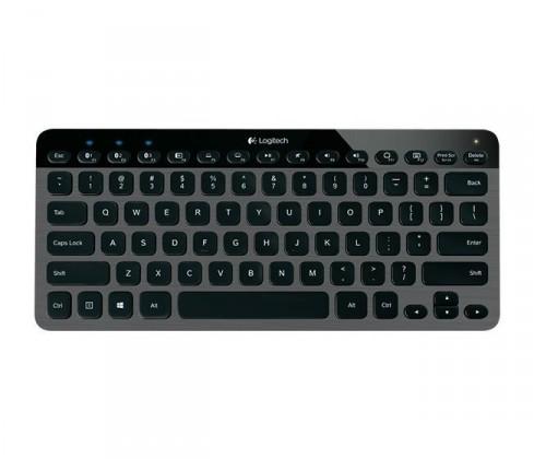 Logitech podsvícená Bluetooth klávesnice K810 CZ