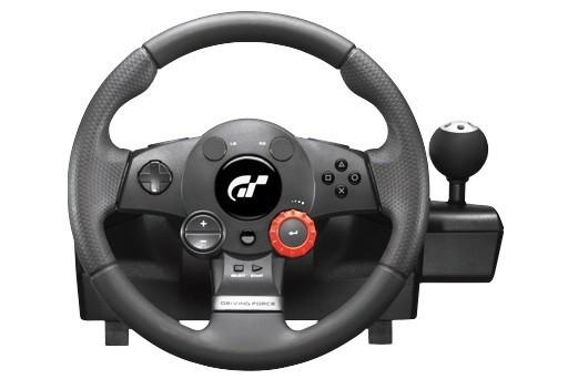 Logitech volant Logitech Driving Force GT pro PS3, PC NEKOMPLETNÍ
