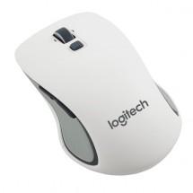 Logitech Wireless Mouse M560, bílá