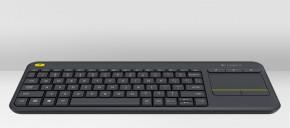 Logitech Wireless Touch Keyboard K400 Plus NEKOMPLETNÍ PŘÍSLUŠENS