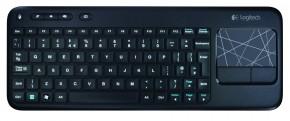 Logitech Wireless Touch Keyboard K400 USB CZ, černá