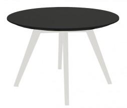 Lola Bess - Konferenční stolek, černá, bílá (9317-001+9366-024)
