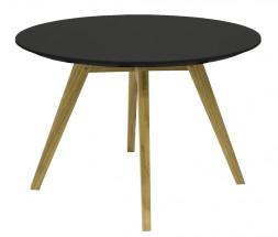 Lola Bess - Konferenční stolek, černá, dub (9317-054+9366-024)