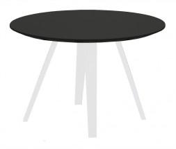 Lola Ella - Konferenční stolek, černá, bílá (9315-001+9366-024)