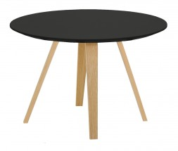 Lola Ella - Konferenční stolek, černá, dub (9315-054+9366-024)