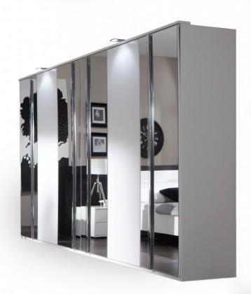 Ložnice ZLEVNĚNO Davos - Šatní skříň