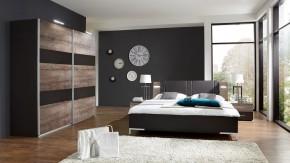 Madeira - Set postel 180x200 + skříň 225 + noč.stolky (dub/láva)