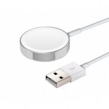 Magnetická nabíječka pro Apple watch, bílá ROZBALENO