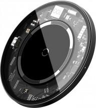Magnetická nabíječka pro iPhone 12 series, S Baseus, 15W, bílá