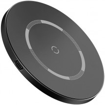 Magnetická nabíječka pro iPhone 12 series, S Baseus, 15W, černá