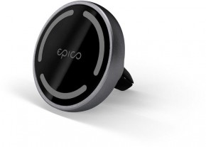 Magnetický držák do auta Epico iPhone 12 series, šedá