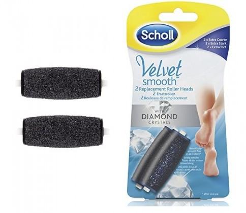 Manikůry / pedikůry Scholl Velvet Smooth Express náhradní hlavice extra hrubá 2 kusy