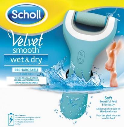 Manikůry / pedikůry Scholl Velvet Smooth WET&DRY