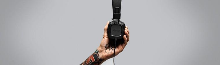 Marshall Major II, pitch black android 04091170,černá