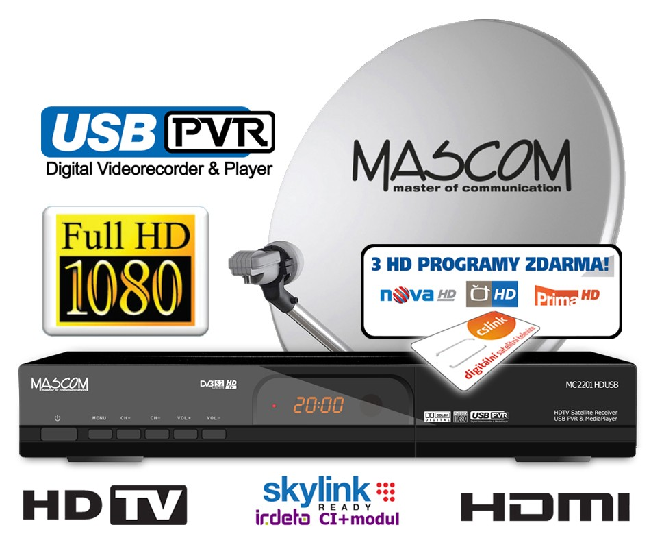 Mascom MC2201/60 + CS link 1rok