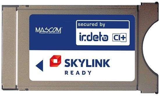 Mascom modul Irdeto CI+1.3 Skylink Ready ROZBALENO