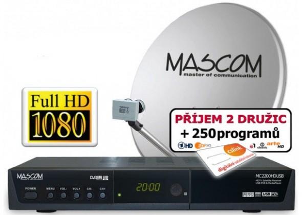 Mascom S-2200/80MBL+G