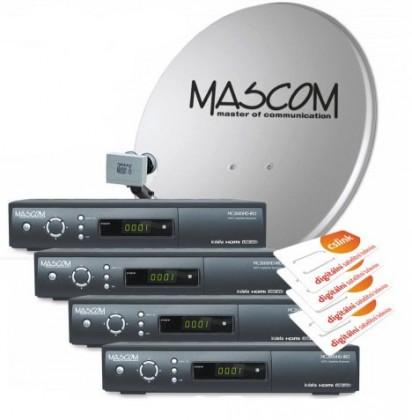Mascom S-2600/60-Q+G