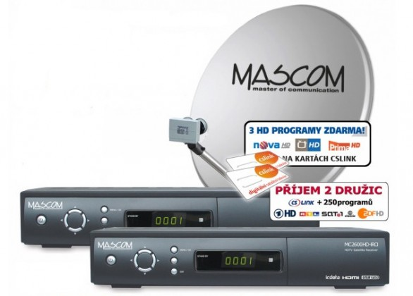 Mascom S-2600/80MBL-T+G