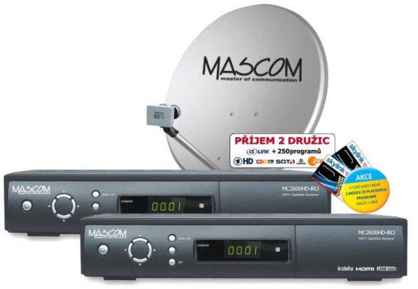 Mascom S-2600/80MBL-T+IH