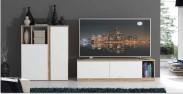 Maser - Obývací stěna (c157 - dub/bílá)