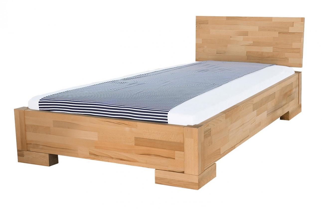 Masivní Alba - rám postele (rozměr ložné plochy - 200x80)