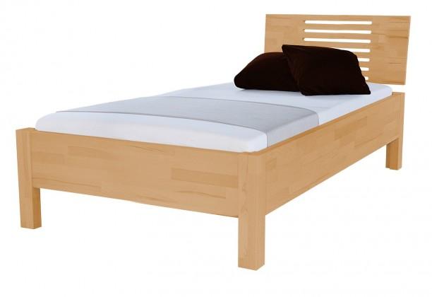Masivní Calvina - rám postele (rozměr ložné plochy - 200x100)