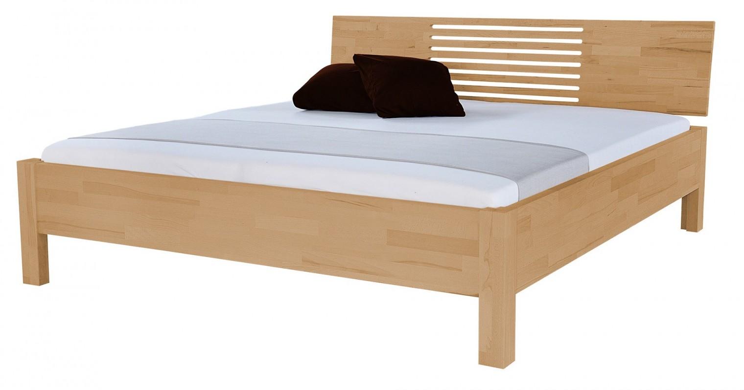 Masivní Calvina - rám postele (rozměr ložné plochy - 200x180)