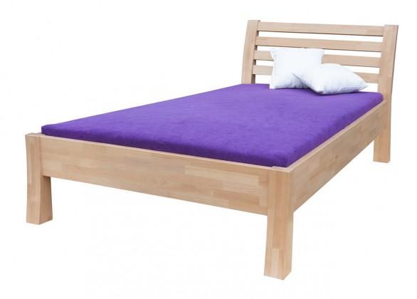Masivní Carla - rám postele (rozměr ložné plochy - 200x100)