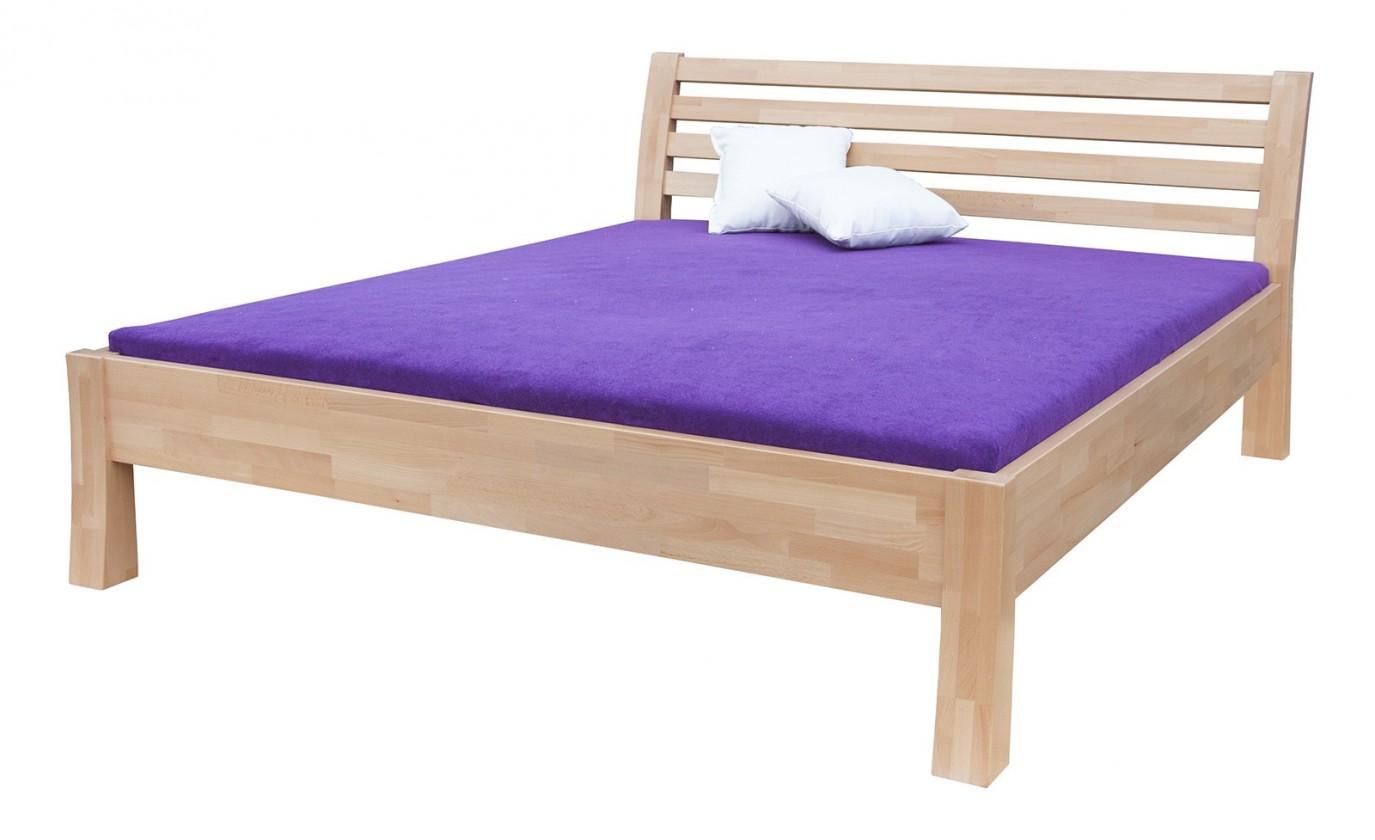 Masivní Carla - rám postele (rozměr ložné plochy - 200x180)