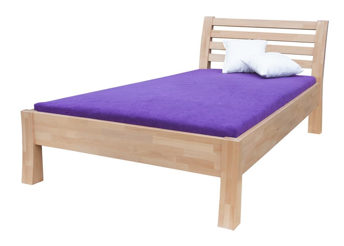 Masivní Carla - rám postele (rozměr ložné plochy - 200x80)