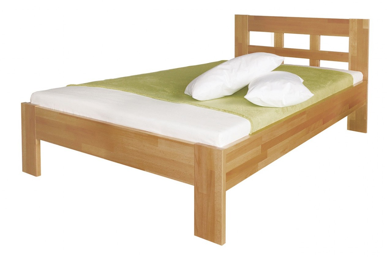Masivní Delana - rám postele (rozměr ložné plochy - 200x80)