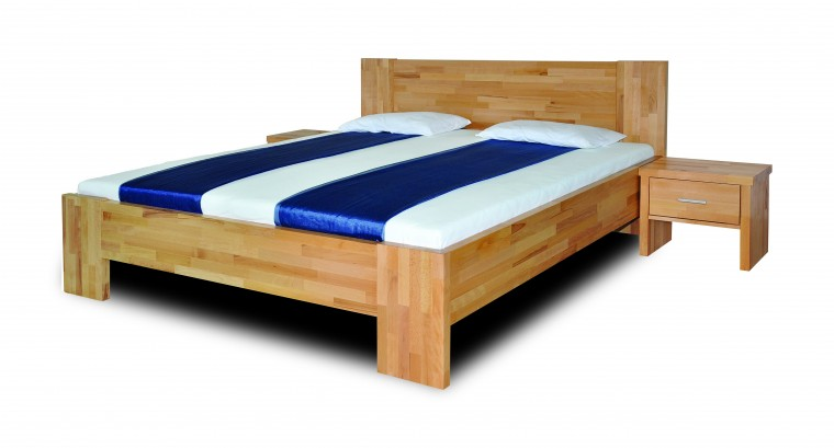 Masivní Fortuna - rám postele (rozměr ložné plochy - 200x100)