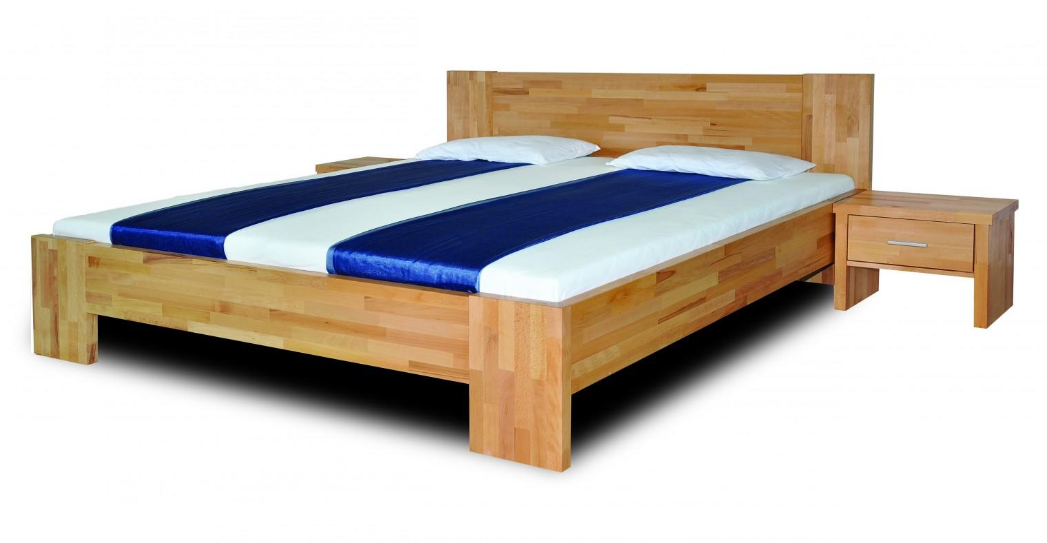 Masivní Fortuna - rám postele (rozměr ložné plochy - 200x160)